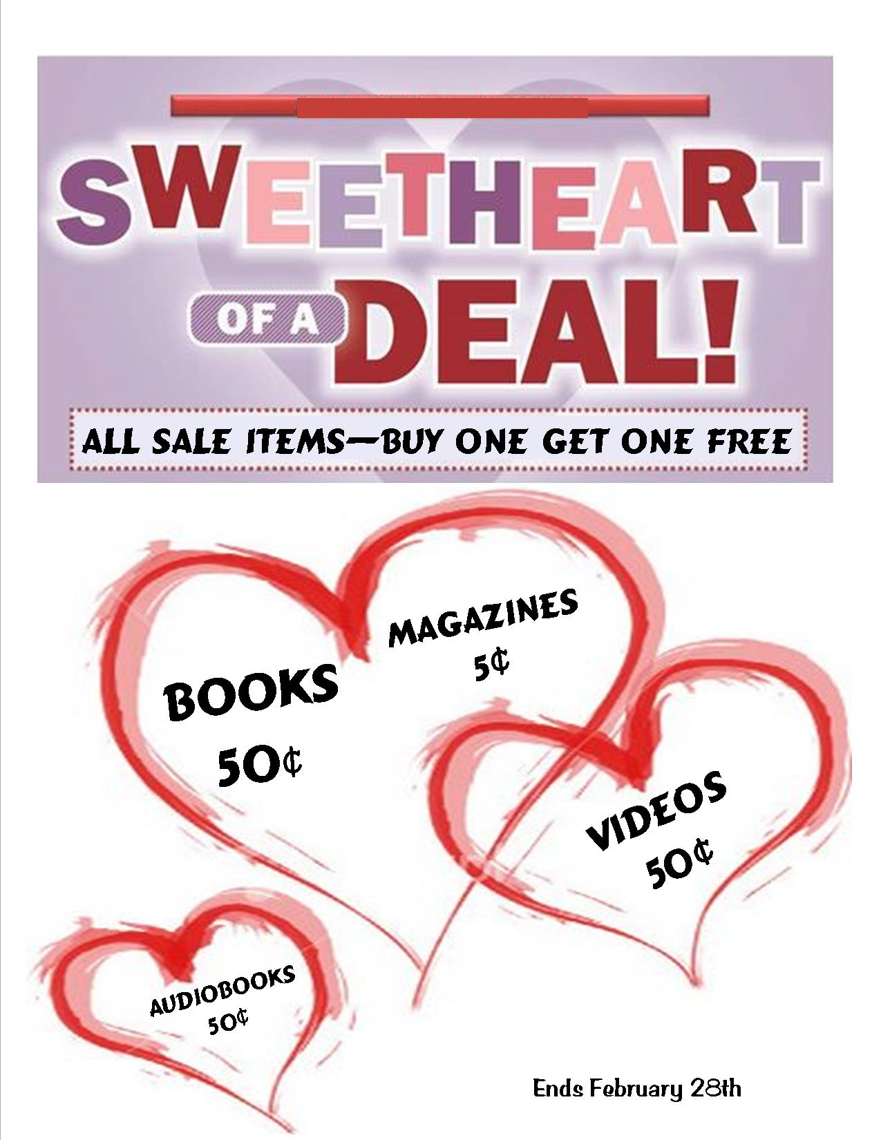 BOOKS Sales special sales Feb 2017