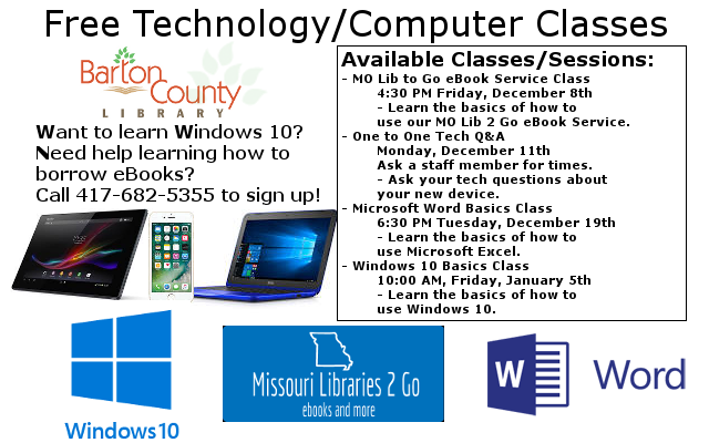 Classes Ad December 2017 January 2018 Website