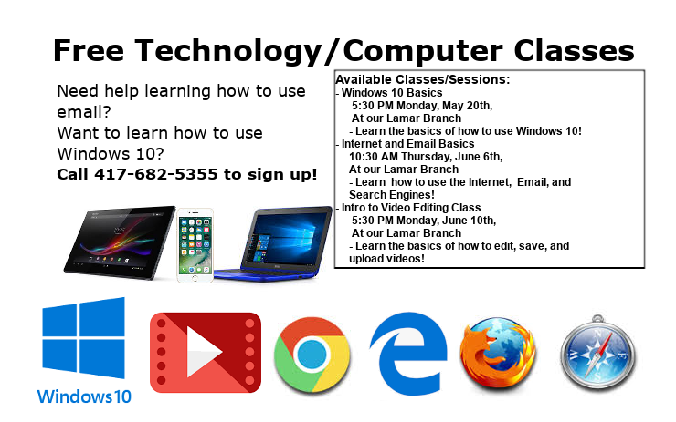 Classes Ad May June 2019 website