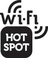 WiFi Hot Spot Available