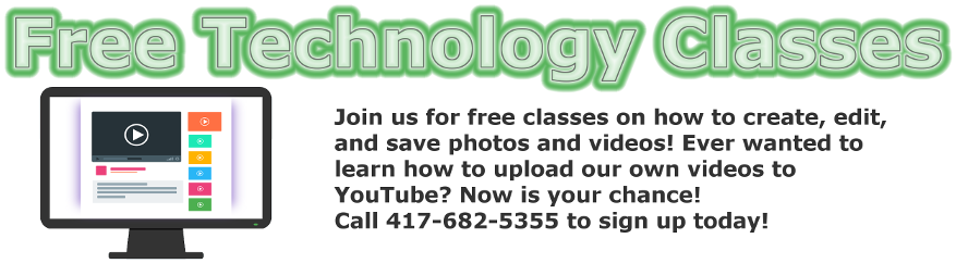 Click Here for Technology Classes Summer Reading Program Schedule