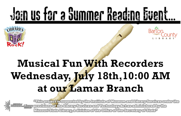 Musical Fun With Recorders 2018 website