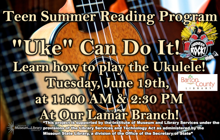 Teen SRP Uke Can Do It Small Ad