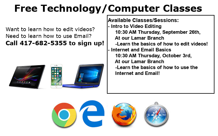 Classes Ad September October 2019 Website