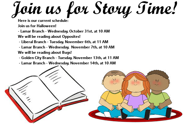 Story Time First Half November 2018