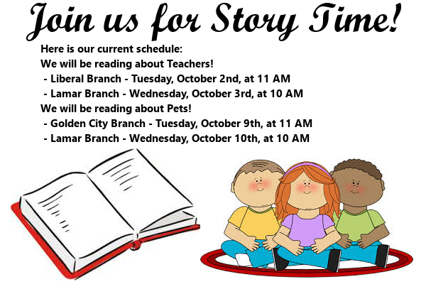 Story Time First Half October 2018