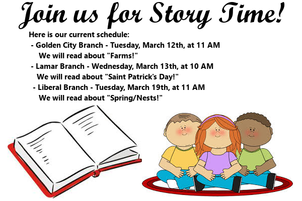 Story Time March 2019 2