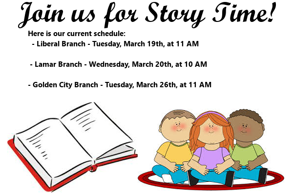 Story Time March 2019 3