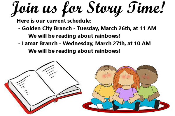 Story Time March 2019 4