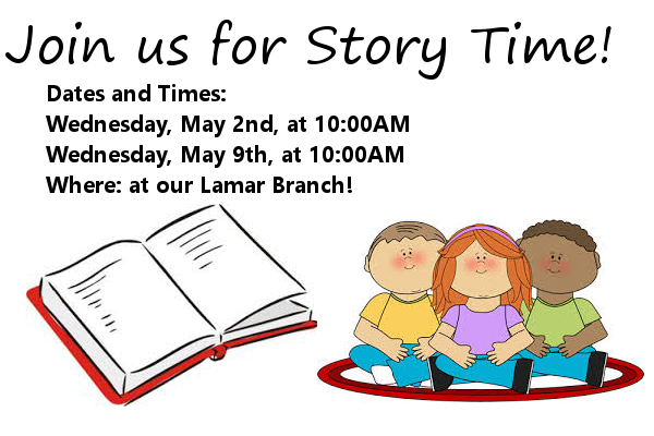 Story Time May 2018