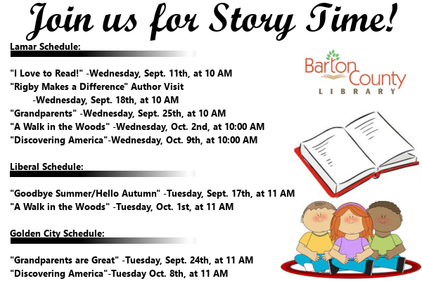 Story Time Sept oct Ad 2019