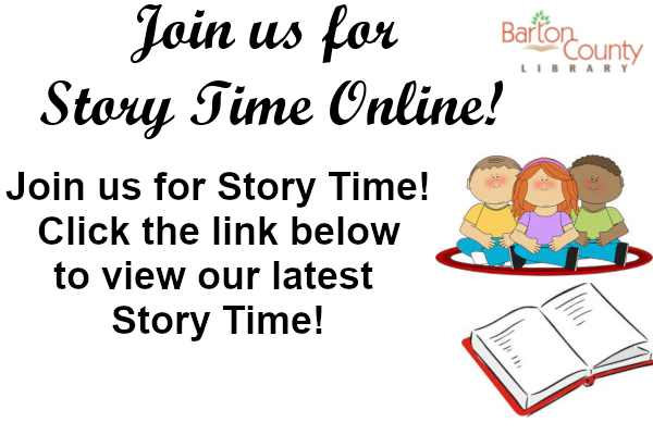 Join us for Story Time! Click the link below to view our latest  Story Time!
