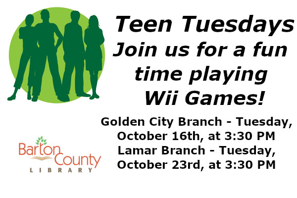 Teen Tuesday Website October 16th 23rd